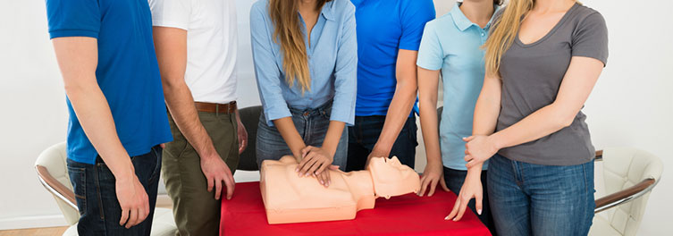 Group Booking - Gold Coast - Group bookings for a CPR course